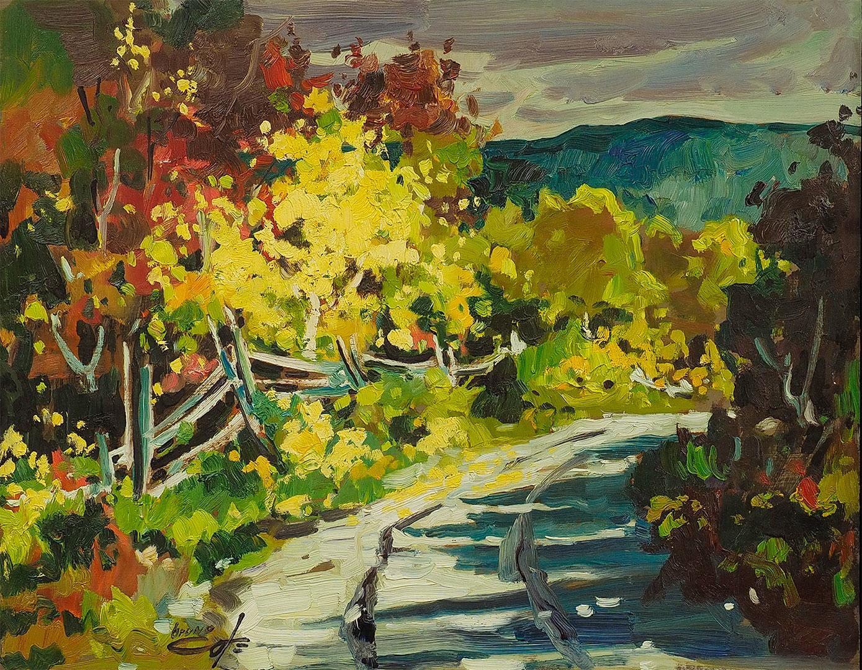 No title (Autumn scene)