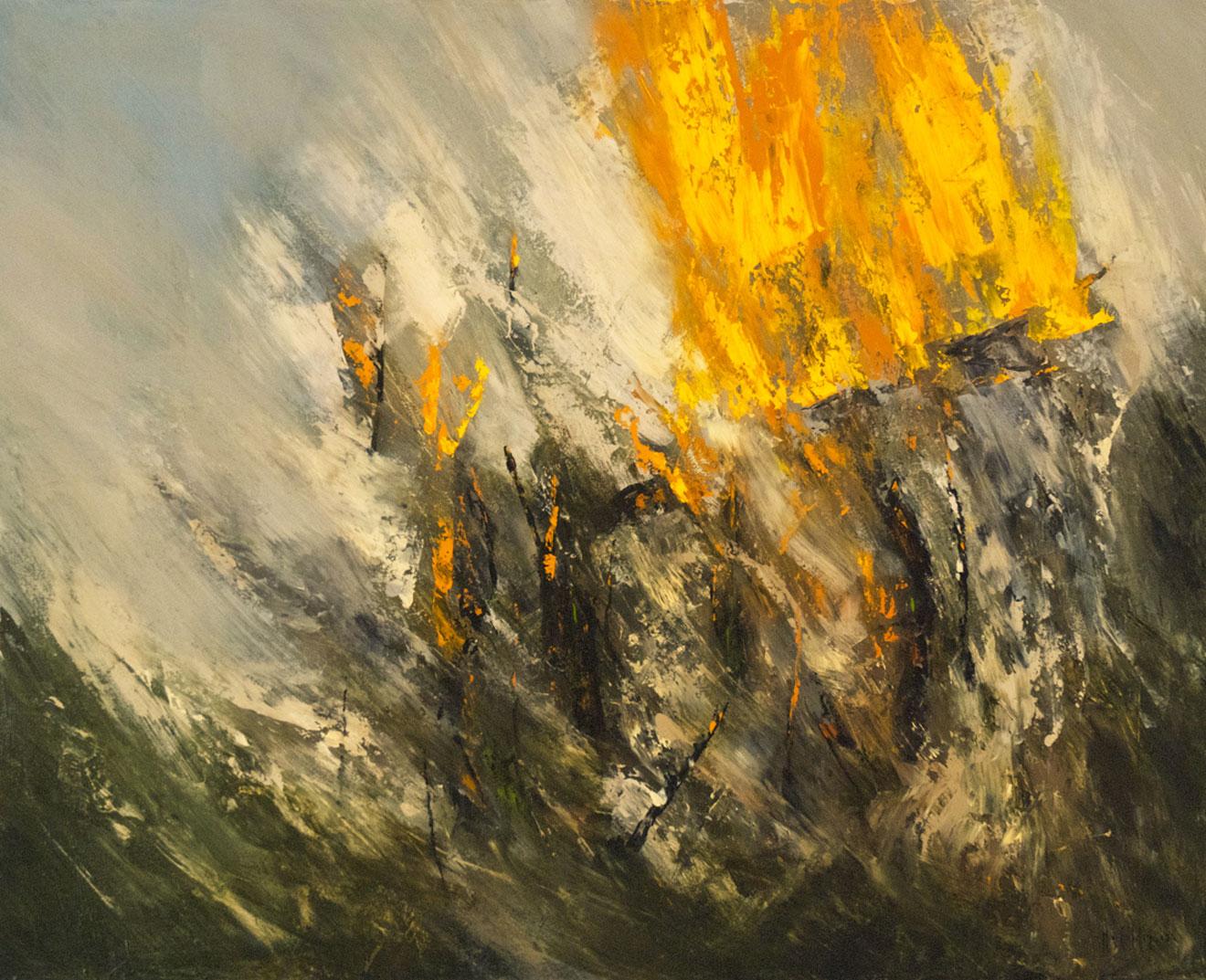 Burning landscape II