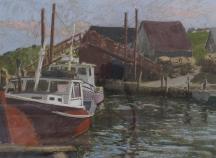 Aperçu de l'œuvre: Boats at dock