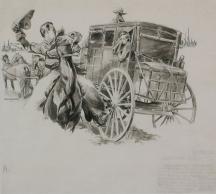 Artwork preview: Horse thief trail