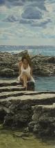 Aperçu de l'œuvre: Sans titre (femme sur la plage)