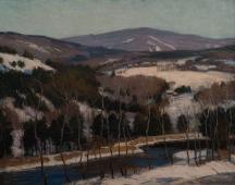 Aperçu de l'œuvre: New England landscape - Connecticut