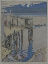 Artwork preview: Jim King's wharf, Alert, B.C.