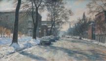 Aperçu de l'œuvre: Jour de froid