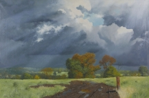 Artwork preview: Storm clouds  - Worcestershire county