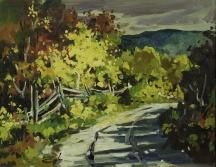 Aperçu de l'œuvre: Sans titre (paysage d'automne)
