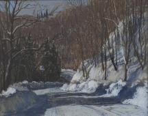 Aperçu de l'œuvre: Touches of sunlight, Montée Robineau, Thurso, Québec