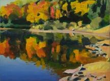 Artwork preview: No title (autumn landscape)