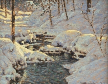 Artwork preview: Ruisseau dans les sous-bois