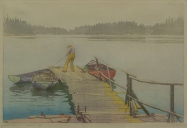 Artwork preview: Sharp's dock, Pender Harbor