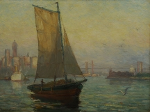 Artwork preview: East River, New-York City: 1910