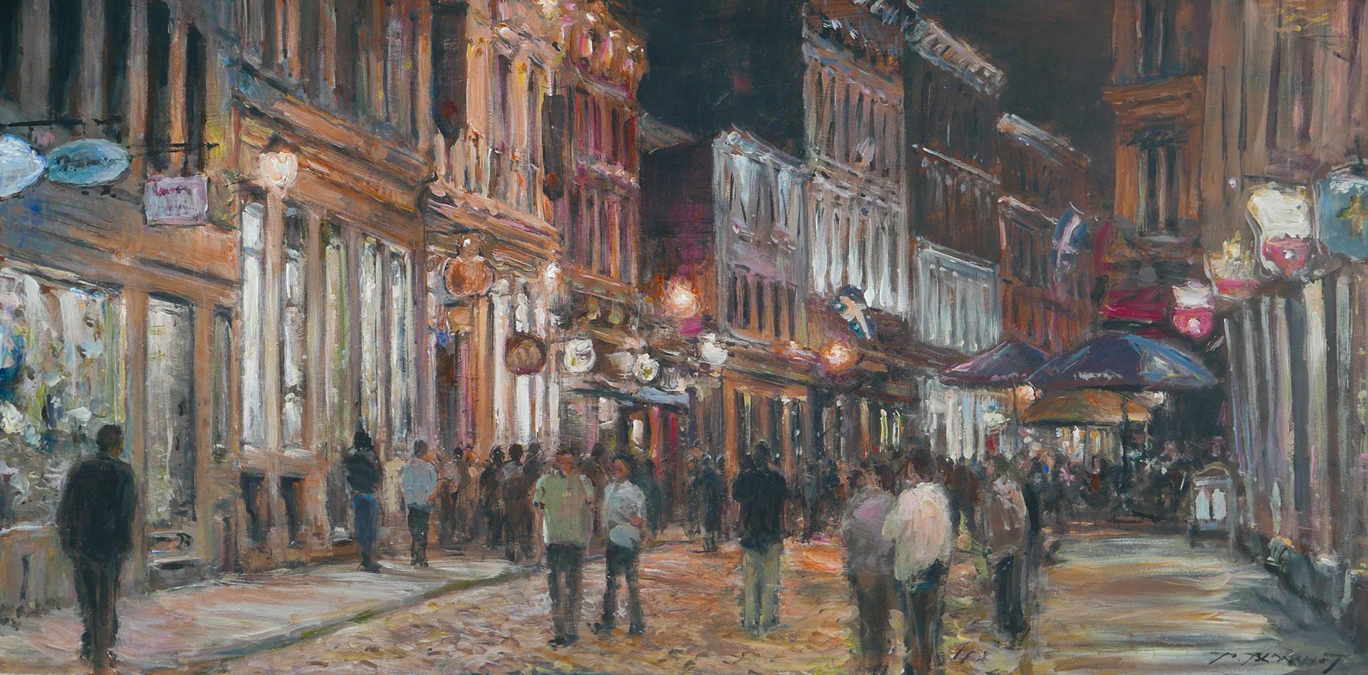 Ambiance de soirée, Vieux Montréal