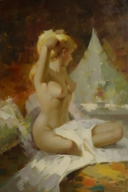 Artwork preview: No title (nude sitting woman)