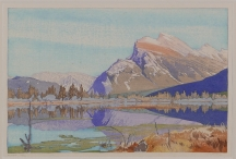 Artwork preview: Mount Rundle