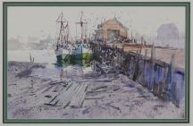 Artwork preview: Untitled (Harbor scene)