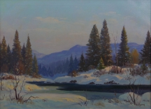 Artwork preview: December on the foothills