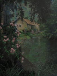 Artwork preview: The old city hall -  Garden of Ninfa, the City of dreams ,Italy