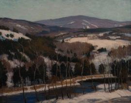 Artwork preview: New England landscape - Connecticut