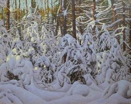 Artwork preview: Lumière hivernale