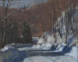 Artwork preview: Touches of sunlight, Montée Robineau, Thurso, Québec
