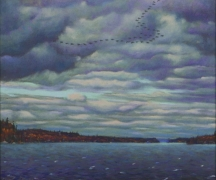 Artwork preview: November sky