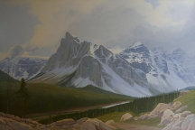 Artwork preview: Where winter's never far away (Valley of the Ten peaks)