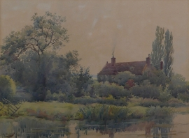 Artwork preview: Untitled (Old farm house)
