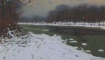 Artwork preview: Rivière en hiver