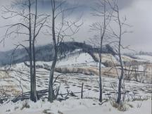 Artwork preview: Untitled (Winter landscape)