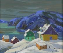 Artwork preview: Au bord du fleuve St-Laurent